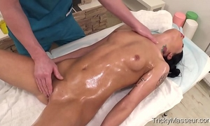 Trickymasseur.com - riana g - playful dark brown pleasure-seeker