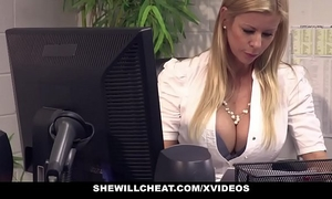 Shewillcheat - breasty milf boss bonks recent employee