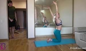 Yoga anal hard fuck legal age teenager