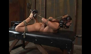 "Satine phoenix - ideal thrall ""hogtied and fucked"" 02/25/2007"