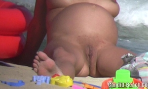 Mature bare milfs love tunnel and a-hole close up beach voyeur episode
