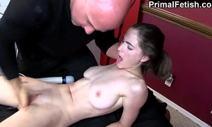 Erotic massage 71: lewd slutwife cums another time and anew