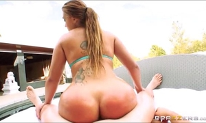 Klara gold riding in anal action