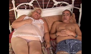 Beautiful blond bbw lisa can't live without to fuck