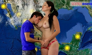Slut weather-girl acquires screwed by tv assistant