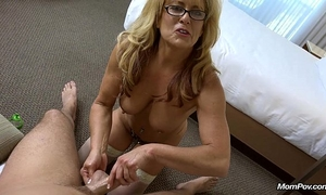 Cougar takes a biggest facial