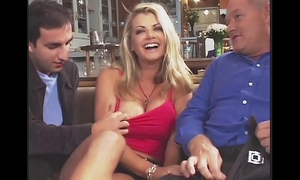Amazing vicky vette bonks 4 studs plus one old fellow!