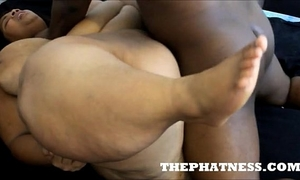 Thephatness.com soaked bomshell drilled hard