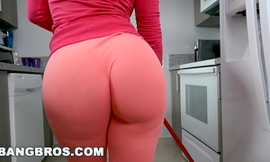 Bangbros - rose monroe is a lascivious latin chick maid with large booty and big billibongs