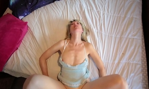Beautiful old white lady lets me fuck her