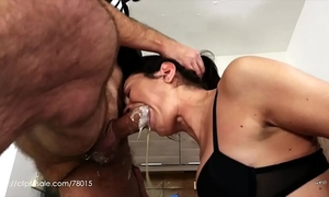 Valentina bianco - bawdy bitch at work (uncensored milk vomit)