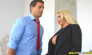 Realitykings - large zeppelins boss - hyped and sexually excited