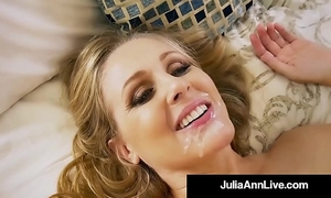 Hot step mother julia ann receives exposed & nasty with step son!